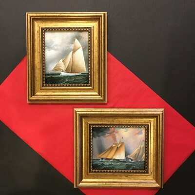 High Seas Framed Reproduction Prints on Canvas