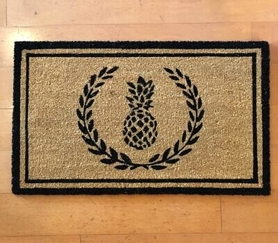 Williamsburg Park Coir Doormat