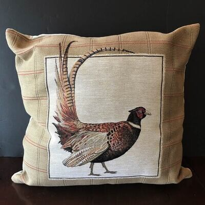 Highgrove Pheasant Tapestry Pillow