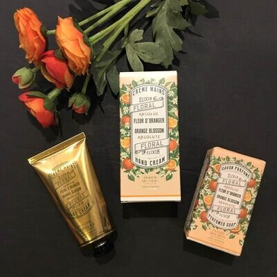 French Orange Blossom Soap and Hand Lotion Set