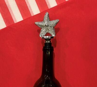 Ocean Starfish Wine Bottle Stopper