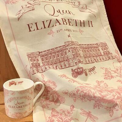 Queen Elizabeth Tea Time Collection