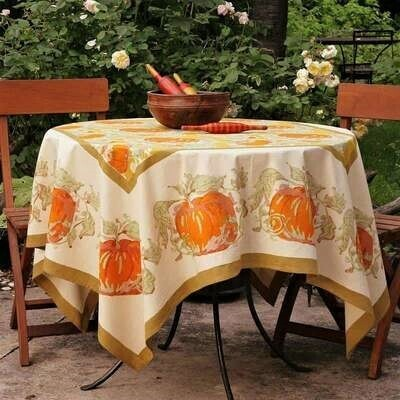 French Fall Harvest Tablecloth - 59