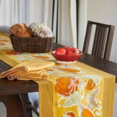 French Fall Harvest Table Runner