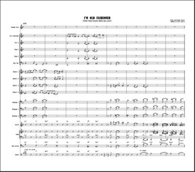 PDF - I'm Old Fashioned - Big Band Arrangement