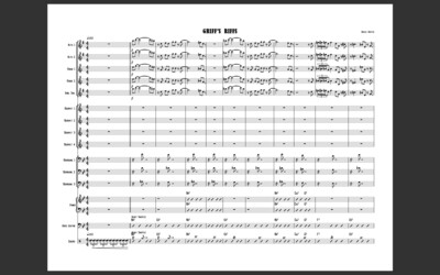 Griff's Riffs (For Big Band)