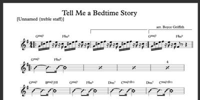 Tell Me A Bedtime Story (Boyce's arrangement)