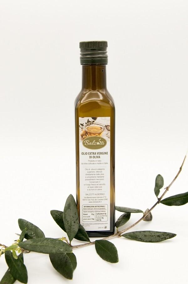 Olio di Oliva Sabina (DOP) - Azienda Agricola Balzotti