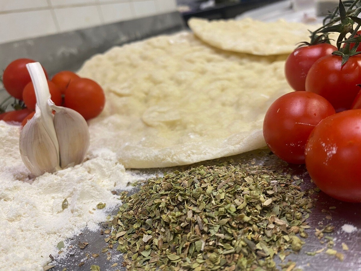 Base pizza romana kasher