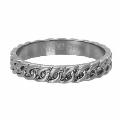 iXXXi Ring 4mm antiek - Curb Chain
