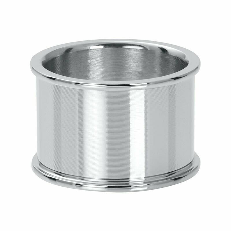 iXXXi basisring  - 14 mm zilverkleur