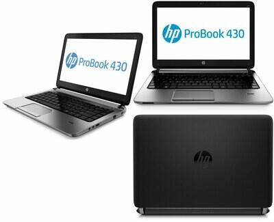 Refurbished HP Probook 430 G2 Laptop i5 5th Gen 4GB 500GB 14inch DOS