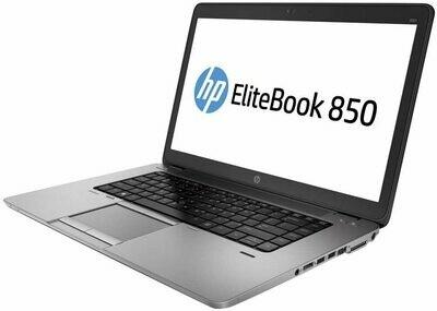 "Refurbished HP Probook 850 G2 Laptop 15.6"" Intel Core i5 5th Gen 8GB 240 GB SSD"