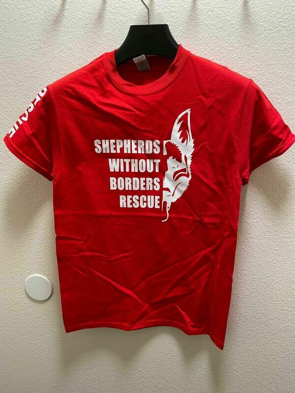 Volunteer Crew-Neck Shirt - (RED)
