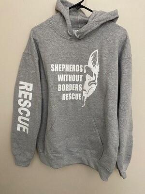 SWB Supporter Hooded Sweatshirt (GREY) - Small