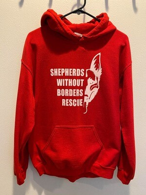 SWB Supporter Hooded Sweatshirt (Red) - Small