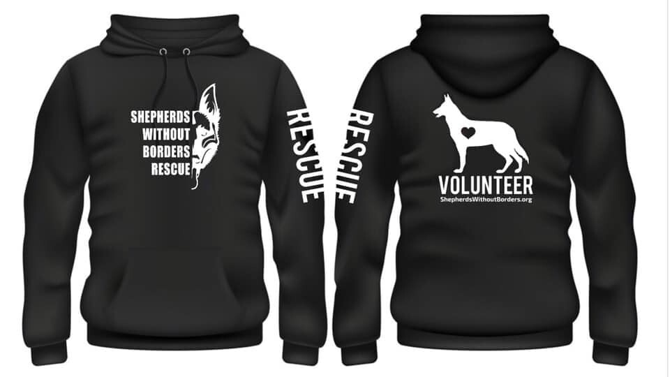 SWB Volunteer Sweatshirt - (BLACK)