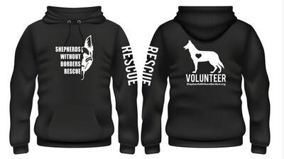SWB Volunteer Sweatshirt - (BLACK)