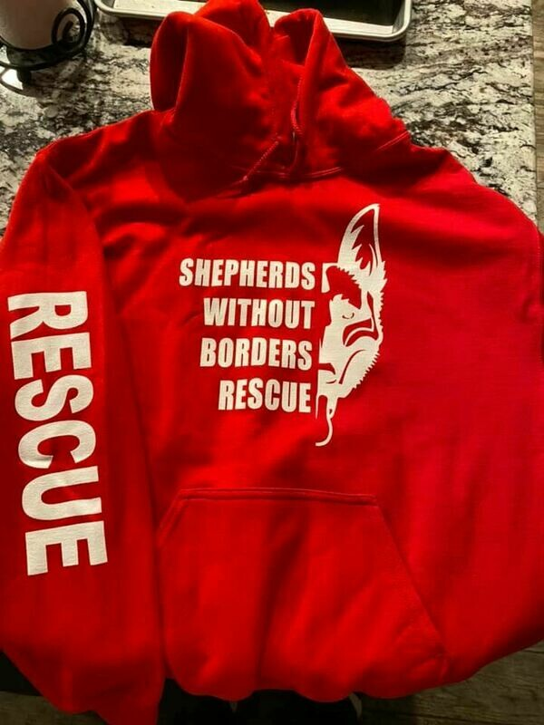 SWB Volunteer Sweatshirt - (RED)