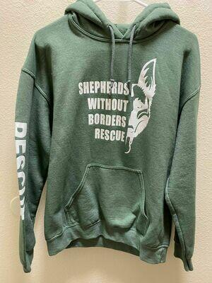 SWB Volunteer Sweatshirt - (GREEN)