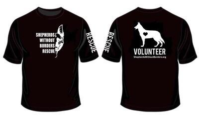 Volunteer Crew-Neck Shirt - (BLACK)
