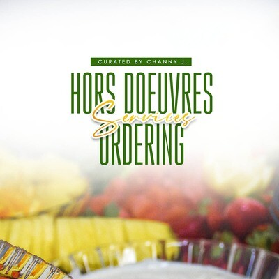 Hors D'œuvres Ordering Services