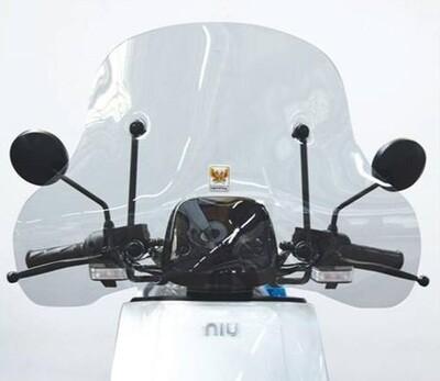 Windschild flach Isotta Cupolino für NIU NQi-Serie