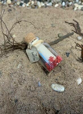 Message in a bottle - 4cm