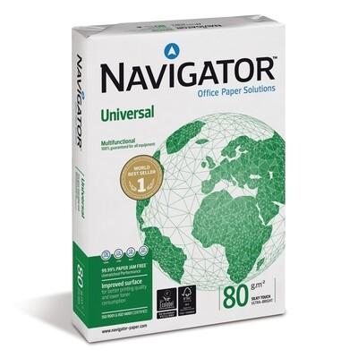 Χαρτί Εκτύπωσης Navigator A4 80g/m²