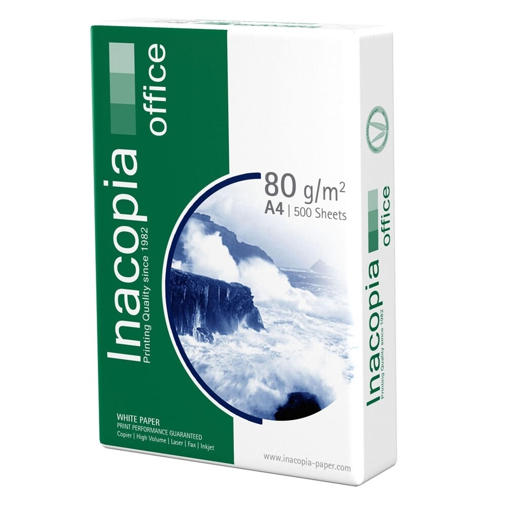 Χαρτί Εκτύπωσης INACOPIA A4 Office 80g/m²