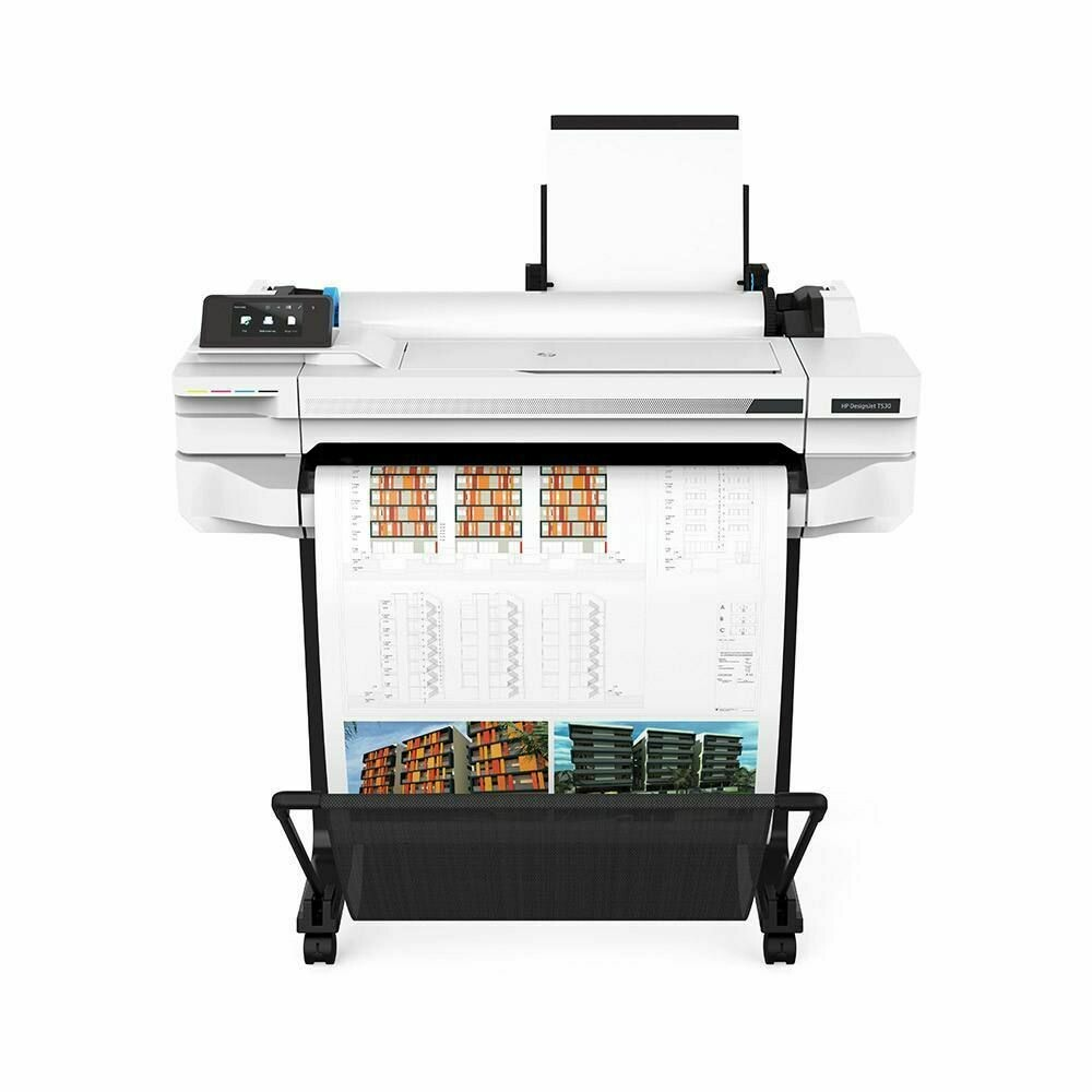 HP DesignJet T530 Printer (24-in or 610mm)