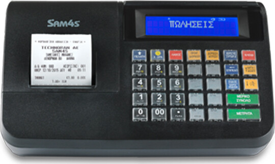 SAM4S NR-320 Ταμειακή Μηχανή Μαύρη
