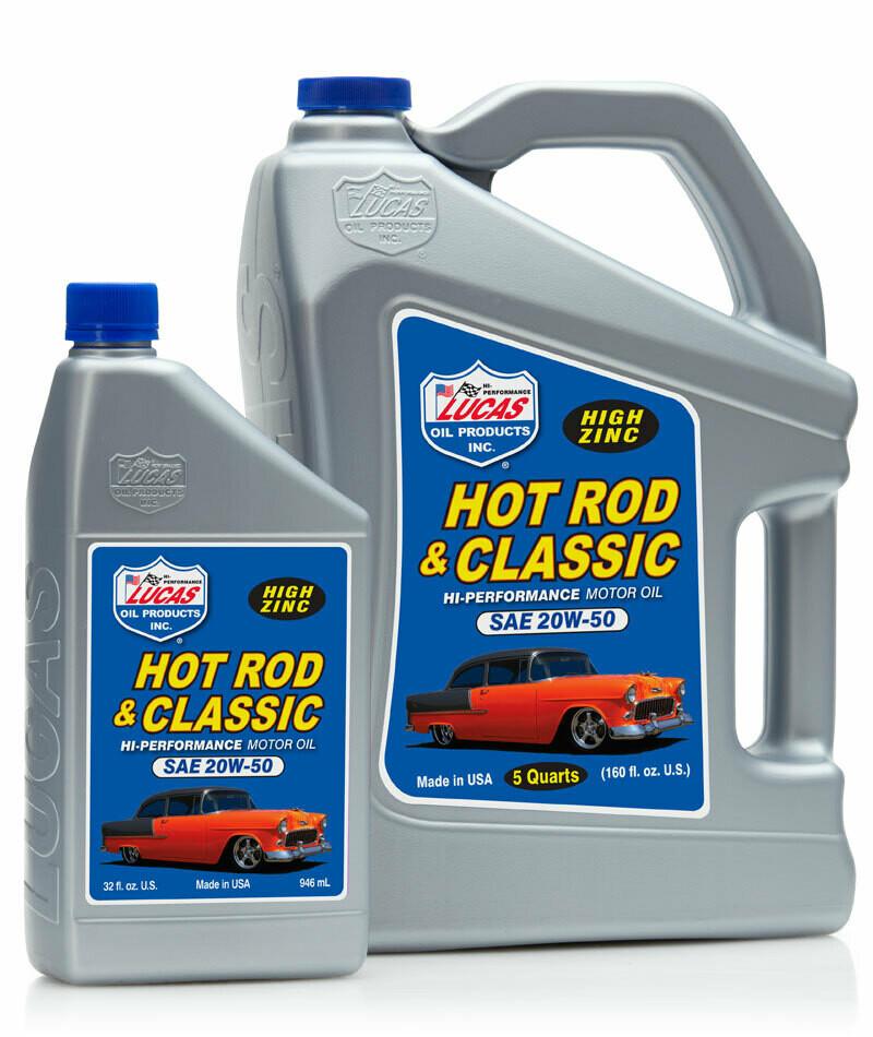 HOT ROD & CLASSIC CAR MOTOR OIL