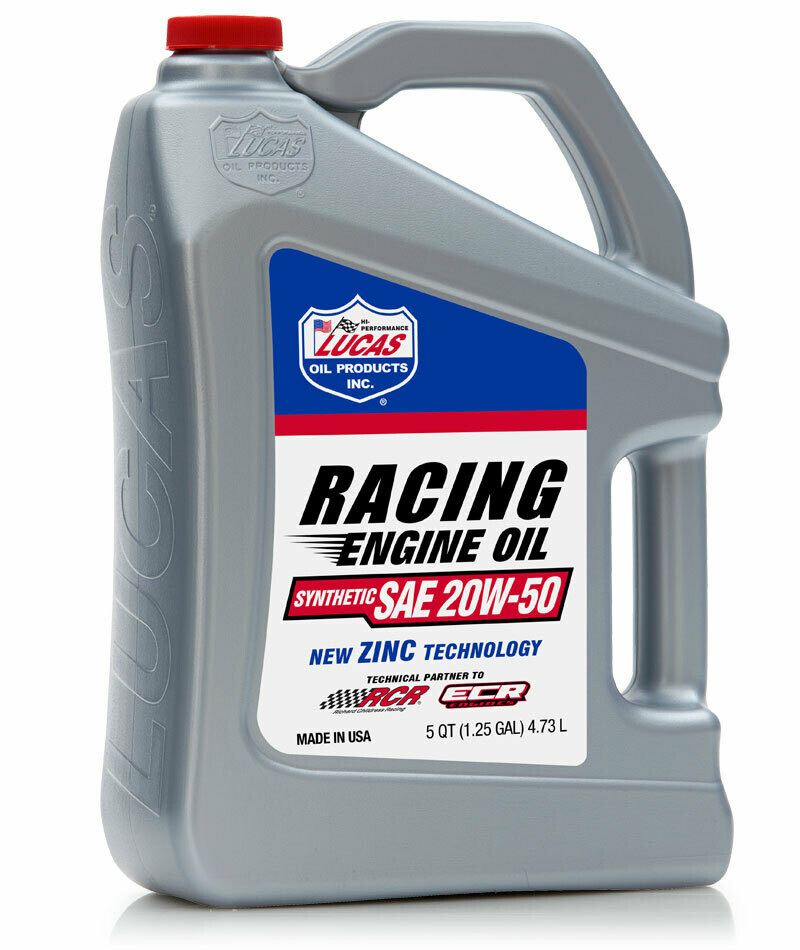 SYNTHETIC RACING ONLY MOTOR OIL