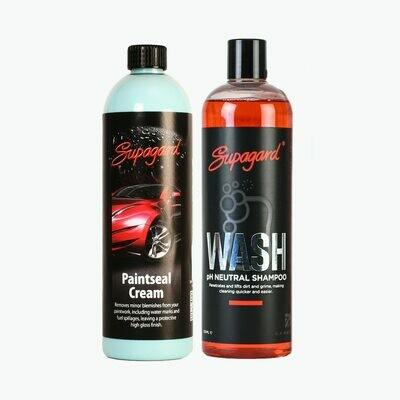 pH Neutral Shampoo &  Paintseal Cream