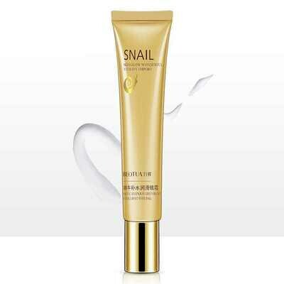Крем для кожи вокруг глаз с муцином улитки Snail Skin Glow Wonderful Vitality Import