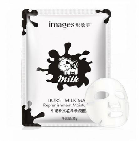Маска для лица с молочными протеинами IMAGES