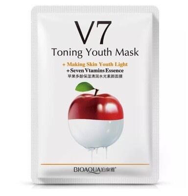 Витаминная маска V7 с экстрактом яблока BIOAQUA