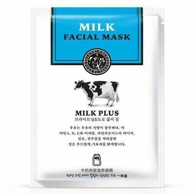 Маска для лица на основе протеина молока Rorec