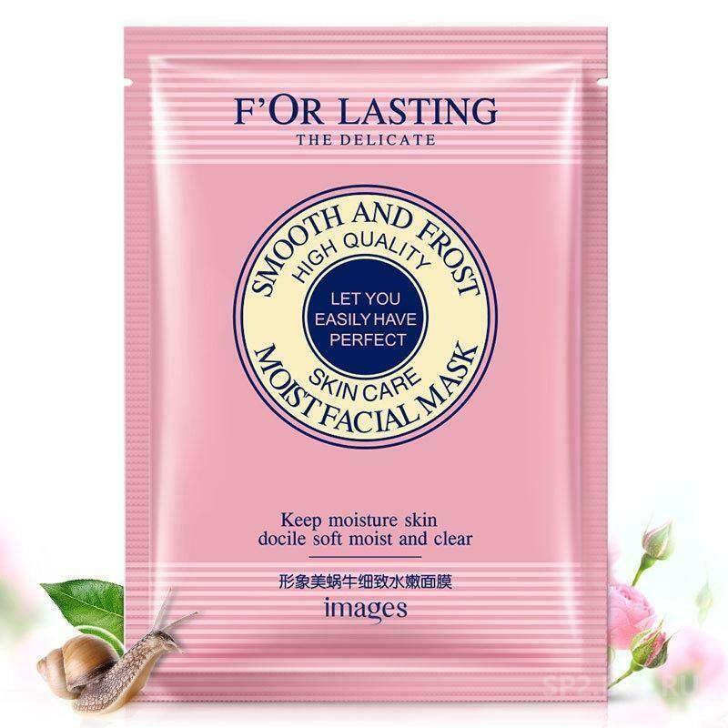 Маска для лица с фильтратом улитки и розой, Images F'OR LASTING