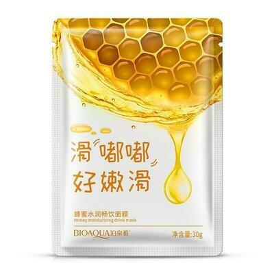 Маска для лица с экстрактом меда Bioaqua