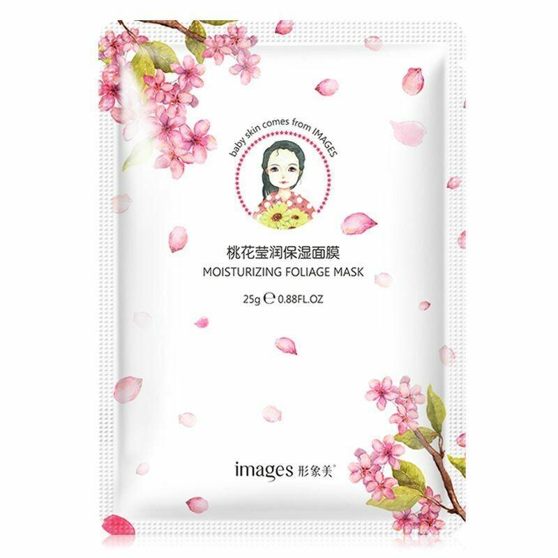 Освежающая маска для лица с экстрактом персика Images