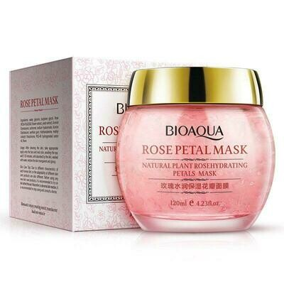 Ночная маска с лепестками роз Bioaqua