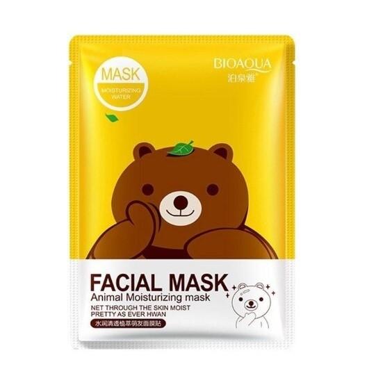Очищающая маска для лица с зеленым чаем BIOAQUA