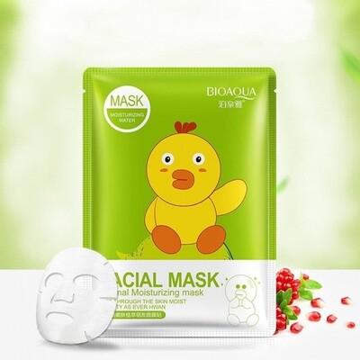 Увлажняющая маска для лица с экстрактом граната Bioaqua