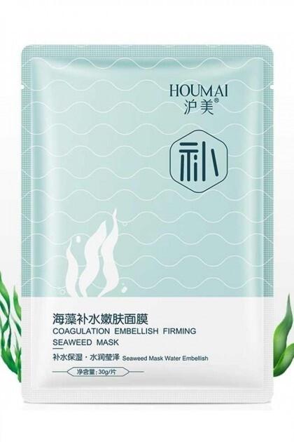 Тонизирующая маска с морскими водорослями Houmai