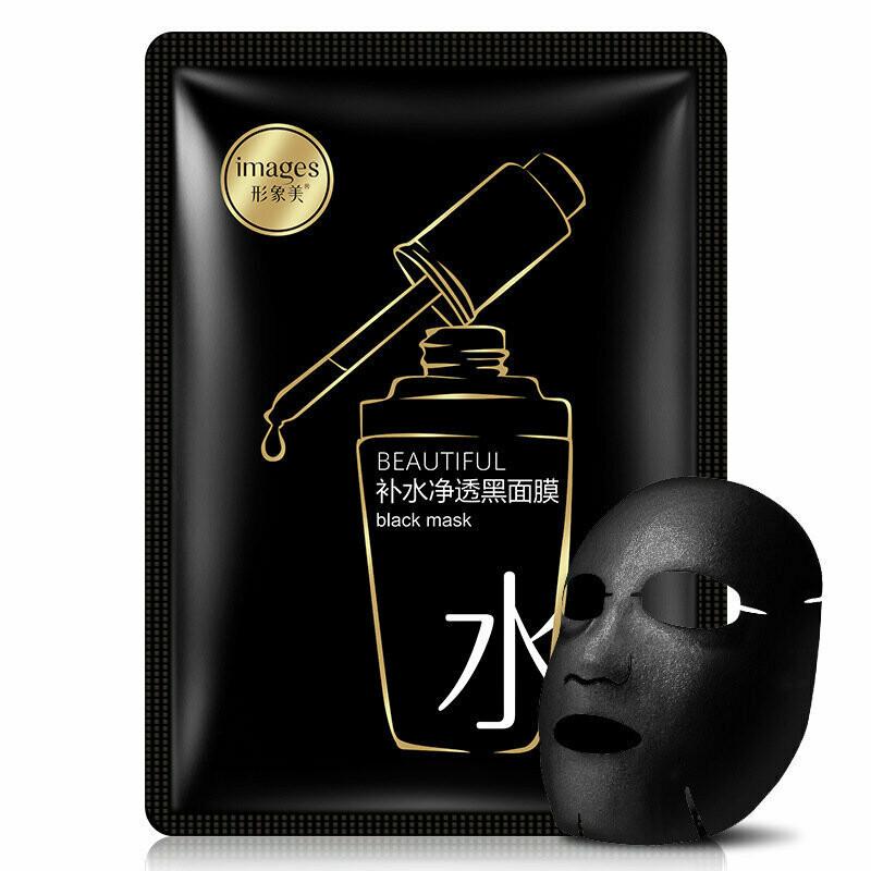 Чёрная маска с экстрактом бобов мунг и бамбуком IMAGES BEAUTIFUL BLACK MASK