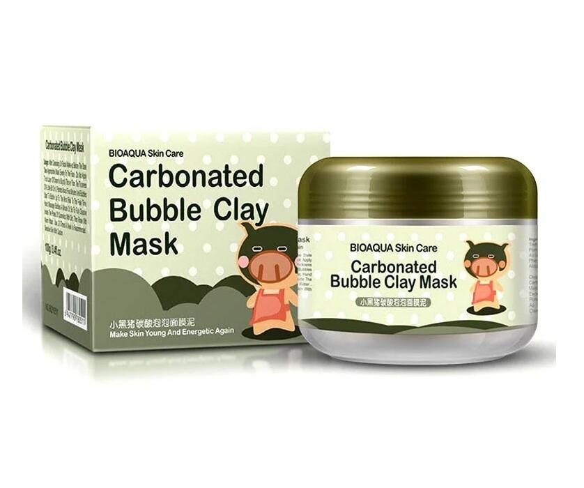 Пузырьковая маска для лица BIOAQUA.