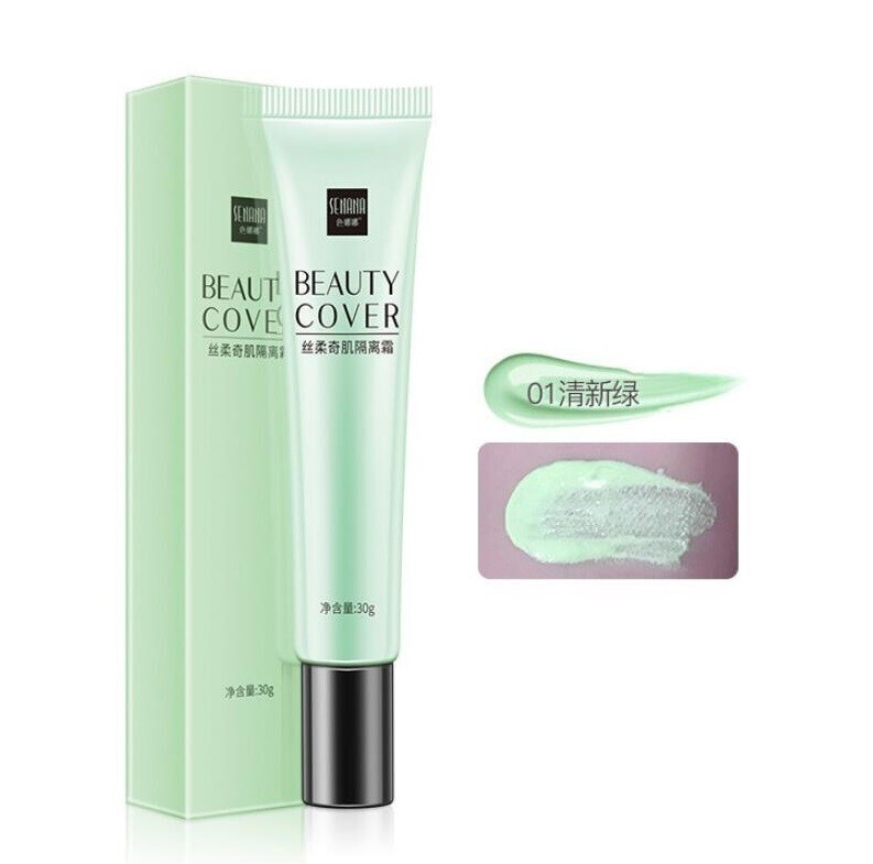 Сонцезащитная основа под макияж Senana (зеленый)