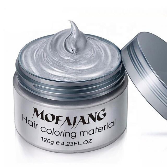 Mofajang воск для волос серый